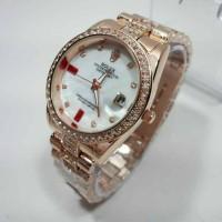 JAM TANGAN DGT Wanita Rolex 9109 Rosegold SALE Berkualitas