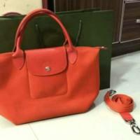 Tas import wanita handbag fashion Longchamp Neo LePliage S/Orange