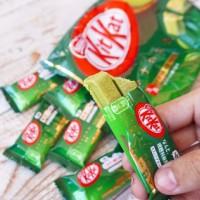 Jual kitkat green tea kit kat green tea import jepang Murah