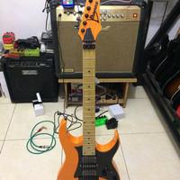 gitar Ibanez Rg .350 orange
