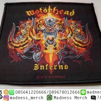 Woven Patch Motorhead-Inferno