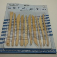 Jual Bomeijia Mini Modelling Tools Kayu Set 10 / Alat Clay / Alat Ukir Murah