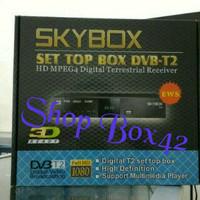 Jual Set top box DVB-T2 SKYBOX H1 Bonus HDMI & Output Murah