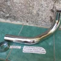 Leher Knalpot+Klemnya Suzuki A100 A5-A8