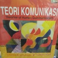 TEORI KOMUNIKASI edisi 9 by. stephen w.littlejohn & karen a foss