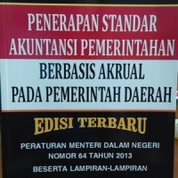 Penerapan Standar Akuntansi Pemerintahan berbasis Akrual pada PD