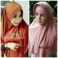 Bergo Cutting Laser / Jilbab Cutting Laser