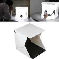 mini photo studio mini simple photo box lipat portable led lamp