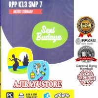 CD RPP K13 SMP/MTS Seni Budaya Kelas 7