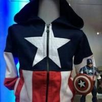 Jaket Anak Captain America. Jaket anak laki laki