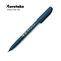 Jual KURETAKE Disposable Pocket Brush Pen  - Extra Fine Tip - Murah