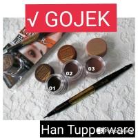 Jual Landbis Eyebrow Gel 3in1 with Eyeliner + Brush / Lanbis Murah