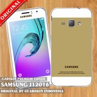 Original Garskin/ Skin Samsung J1 6 2016 - Motif Case Gold
