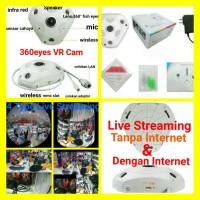 Jual IP CAM IP CAMERA VR CAM 960P 1.3MP PANORAMIC 3D 360 FISH EYES Murah