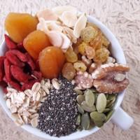 Healthy Granola Super Mixed 500 gram ( Walnut, Chia seed, Gojiberry )