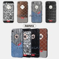IPhone 7,7s Remax Sinche PolyUrethane PU Hard Leather Hard Case Casing