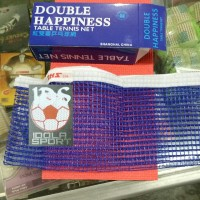 Net pingpong / net tenis meja double happiness (hanya net)