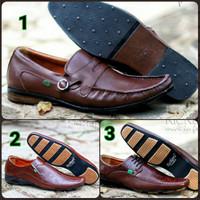 Sepatu Pantofel Kerja Pria Kickers Oggin Kulit 3 model Best Seller