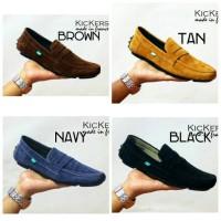 Sepatu Casual Slip On Pria Kicker 4 warna