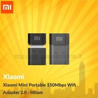 Xiaomi Mini Portable 150Mbps Wifi Adapter 2.0 - Hitam