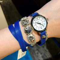 La Mer Collections Watch - VERSAILLE CRYSTAL ROYAL BLUE