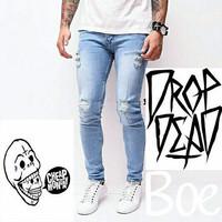 Jual Ripped Jeans-Celana sobek sobek Pria-Cheapmondayq Murah