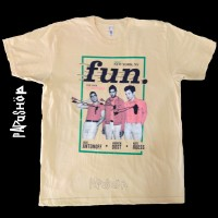 "Fun. T-shirt Baju Musik Original Import ""Size XL"" Tag American Apparel"
