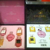Jual CHANNEL PARFUM MINIATUR/CHANNEL PARIS/CHANNEL GIFT ISI 5^^ Murah