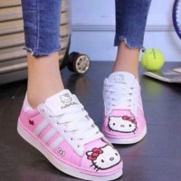 Jual Sepatu Kets Hello Kitty Murah Murah