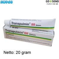 20 gram Transpulmin BB (Baby Balsam), Balsem Bayi Pilek