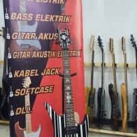 gitar elektrik/listrik schecter synyster gates (Bandung)