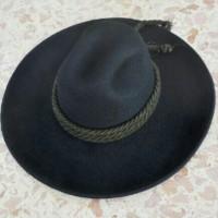 Jual topi fedora original brim lebar Murah