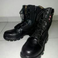harga sepatu pria king steel safety boot hitam (harga promo). Tokopedia.com