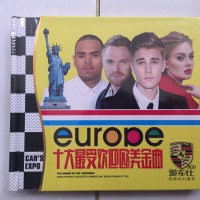CD Audiophile lagu barat terbaru europe 3disc original impor