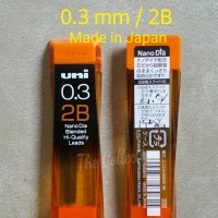 ATK256UN 0.3 Mm 2B JAPAN 15 Leads Isi Pensil Mekanik Mechanical Pencil