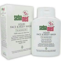 sebamed liquid face & body wash 200ml