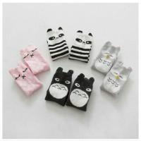 Kaos Kaki Bayi Anak Ukuran Panjang Lucu Karakter Motif Gambar Binatang
