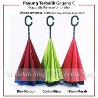 """Payung Kazbrella - Payung Unik dengan design """"terbalik"""" . Kado hadiah"""