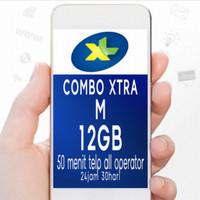 Paket Data Internet Combo Xtra XL 12GB + 50 menit telepon