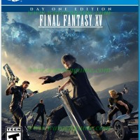 PS4 Final Fantasy XV / FF 15 Day One (R2 / Reg 2 / English PS 4 Game)
