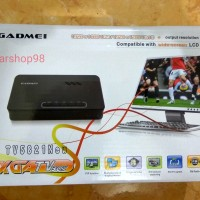 TV Tuner/Converter AV to VGA untuk Monitor CRT/LCD/LED Gadmei 5821 New