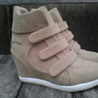 Jual sepatu wanita sneaker sneakers wedges hak tinggi kets boots Murah