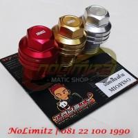 harga Tutup / Baut Oli Gardan Trusty Yamaha NMAX / Mio / Fino Tokopedia.com