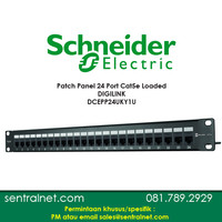 DCEPP24UKY1U - Schneider - CAT 5e UTP 24P PANEL LOADED