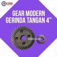 """Gear Mesin Grenda / Gerinda Tangan 4"""" Modern Sim100, M2300, M 2350"""