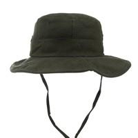 Topi/Bucket Hat TO3 RIPSTOCK RIMBA Hijau Tua. Bahan Ripstok Import
