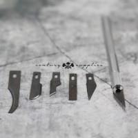 Carving Knife / Pisau Ukir / Leather tool / Tools / Alat Kulit