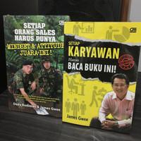 2 Buku James Gwee (Buy One Get One)