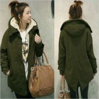 Zanzea Winter Warm Jacket Jaket Parka Hangat Import