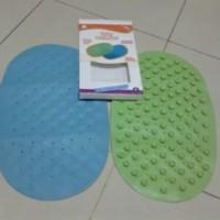 Anti slip baby bath mat